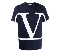 T-Shirt mit VLOGO-Print