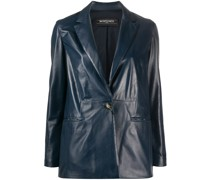 'Betty' Blazer aus Leder