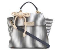 Gestreifte 'Eartha Iconic Top Handle'  Handtasche