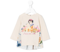 Snow White print sweatshirt