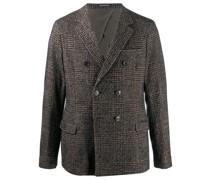 tartan check blazer jacket