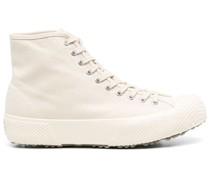 Canvas-Sneakers mit Schnürung