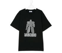 T-Shirt mit Transformer-Motiv