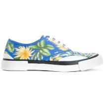 Sneakers mit Dschungel-Print