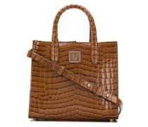 Kleine Handtasche mit Prägung