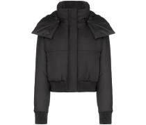 padded-logo puffer jacket