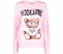 Pullover mit Teddy-Print