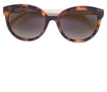Runde Sonnenbrille in Schildpattoptik