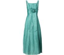 waist-tie lightweight dress