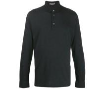 Sweatshirt mit Poloshirtkragen