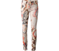 igital print jeans