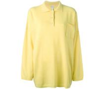 Wollpullover mit Poloshirt-Kragen