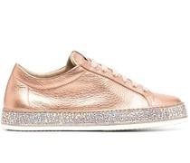 Andrea Sneakers mit Kristallen