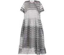 polka-dot gradient midi dress