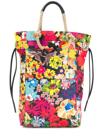 Ports 1961 Damen floral print rope handle tote bag