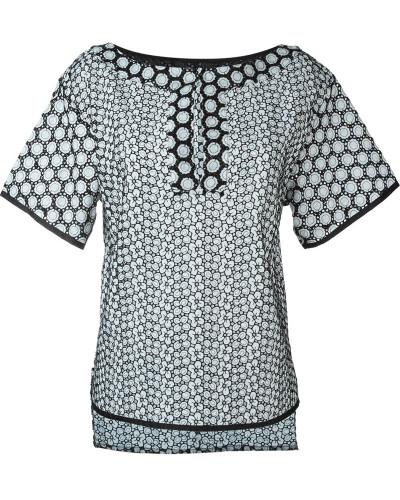 blumarine damen 39 cut out embroidered 39 oberteil reduziert. Black Bedroom Furniture Sets. Home Design Ideas