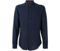 long-sleeve shirt - men - Leinen/Flachs - 48