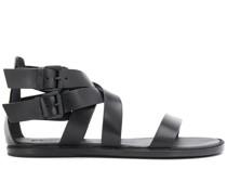 Sandalen mit doppelter Schnalle