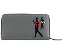 'The Passerby' Portemonnaie mit Reißverschluss
