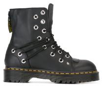 Military-Stiefel mit Ösen