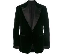 Jacket mit Ziernaht am Revers