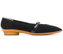 strap low heel sandals