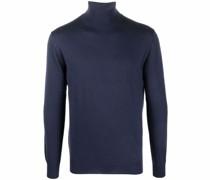 roll-neck wool jumper