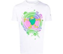 Schmales T-Shirt mit Taz-Print