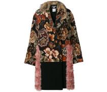 fur free tapestry coat