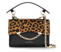 Karl Seven leopard-print shoulder bag