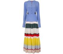 'Lobelia' Kleid in Colour-Block-Optik