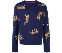 Sweatshirt mit Gepard-Print