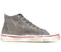 Bemalte High-Top-Sneakers