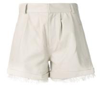 Shorts mit Fransensaum