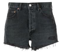 Taillenhohe Parker Jeans-Shorts