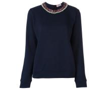 Pullover mit verziertem Kragen - women