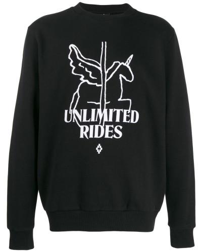 Sweatshirt mit Einhorn-Print