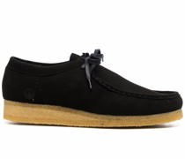 Wallabee vegan leather shoes