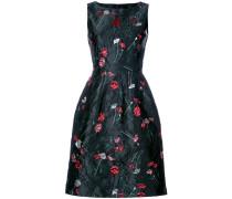Cloqué-Kleid mit Blumenmuster