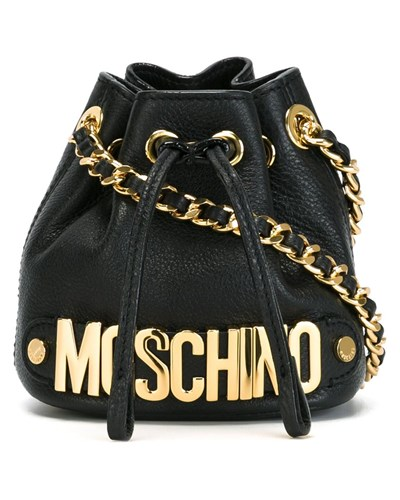 moschino damen mini beuteltasche 20 reduziert. Black Bedroom Furniture Sets. Home Design Ideas