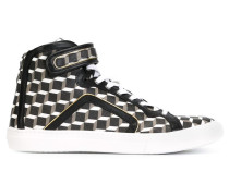 'Cube' High-Top-Sneakers