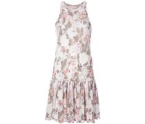 - Florales Kleid mit plissiertem Design - women