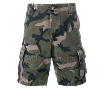 Cargo-Shorts mit Camouflage-Print - men