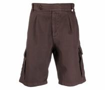 Halbhohe Cargo-Shorts