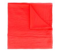 raw edge scarf - men - Baumwolle - Einheitsgröße