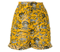 'Amity' Shorts mit floralem Print