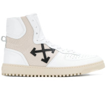 High-Top-Sneakers mit Patch