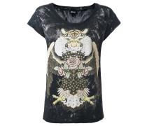 'animals' print T-shirt