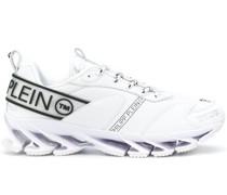 'TM' Sneakers aus Kunstleder
