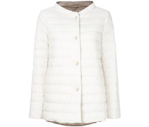 long sleeved quilted jacket